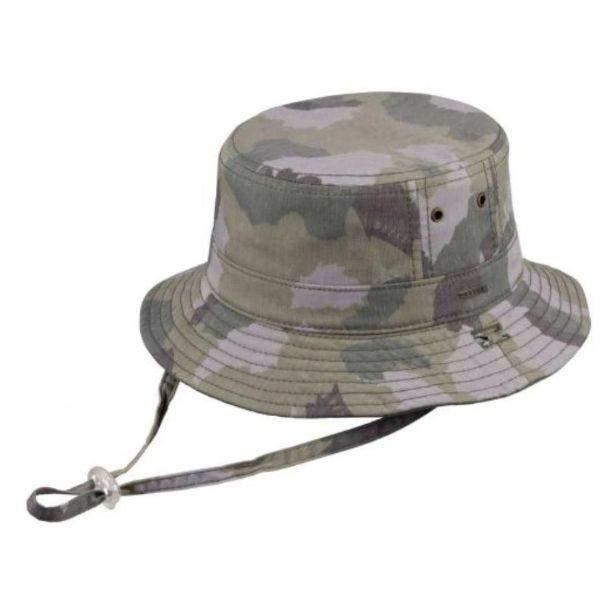 Dozer Boys Bucket Kids Sun Hat Zachary Camo 50+UPF Sun Protection