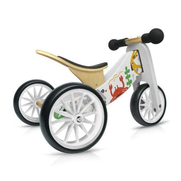 Kinderfeets Tiny Tot 2-in-1 Trike Balance Bike