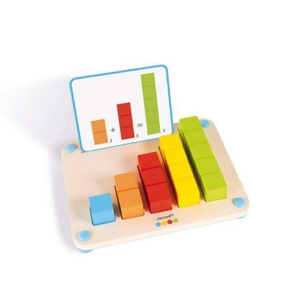 Janod Learn How to Count Kids Wooden Toy (3-6 Years Old)