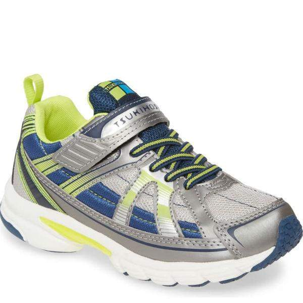 Boys Running Shoes - Tsukihoshi Storm Steel Navy / Little Kids / Youth