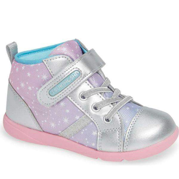 Girls Running Shoes - Tsukihoshi Star Toddler/Little Kids Boots Silver Pink