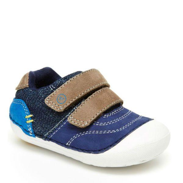 Stride Rite SM Tate Toddler Lightweight Leather Sneaker - ShoeKid Canada