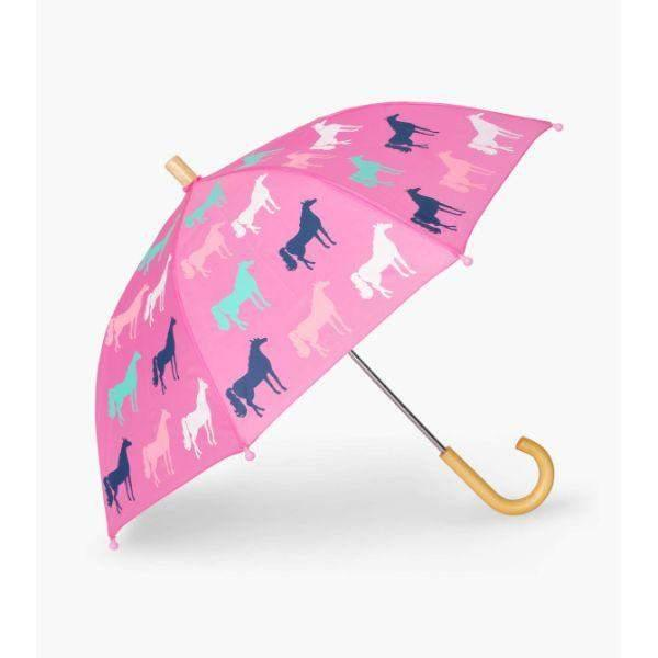Hatley Horse Silhouettes Girls Umbrellas