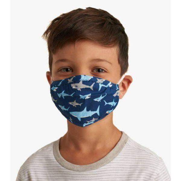 Hatley Kids Face Mask - Shark
