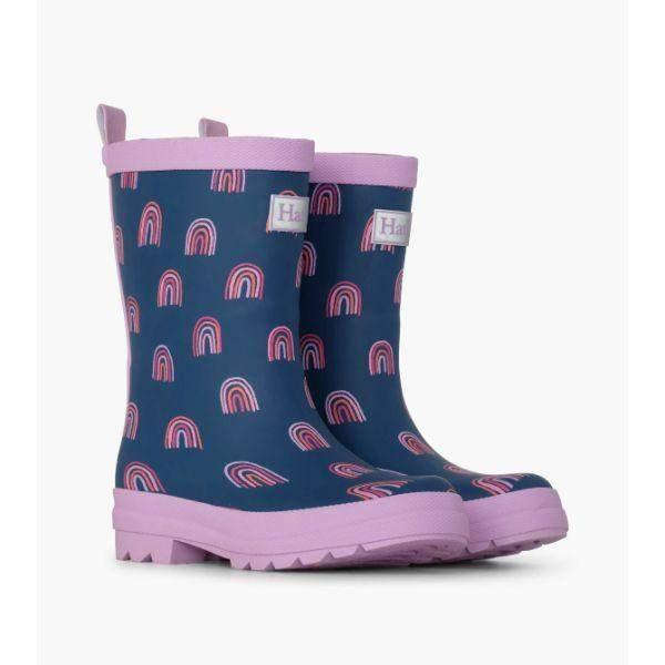 Hatley Rainbow Party Rain Boots - ShoeKid.ca