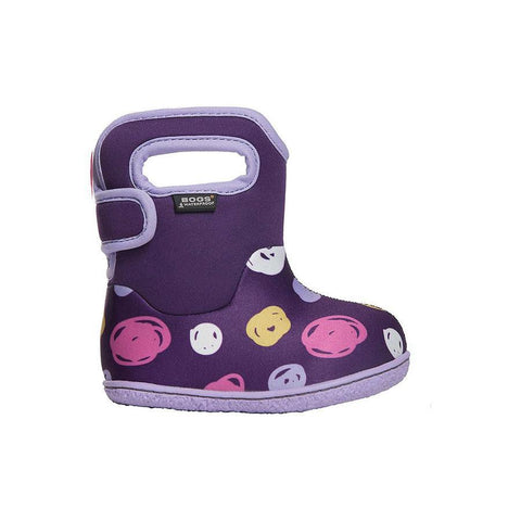 Girls Baby Bogs - Baby Bogs Sketch Dot / Infant /Toddler / Waterproof / -10C Warm