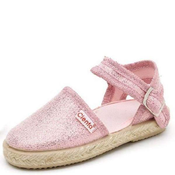Girls Casual Shoes - Cienta Valenciana Hebilla Metalizado / Made In Spain