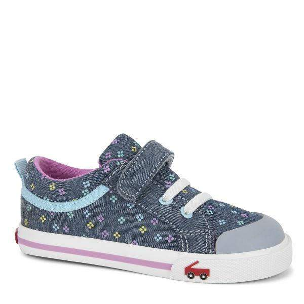 Girls Casual Shoes - See Kai Run - Kristin Sneakers For Kids, Diamond Dots