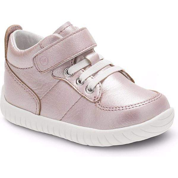 Girls Casual Shoes - Stride Rite Bailey Leather Pink Metallic / Infant/Toddler