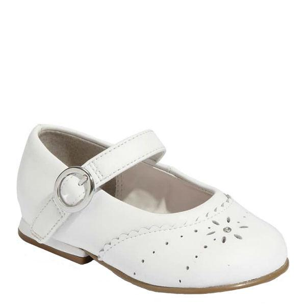 Girls Dress Shoes - Stride Rite CAMILA WHITE LEATHER Infant/Toddler