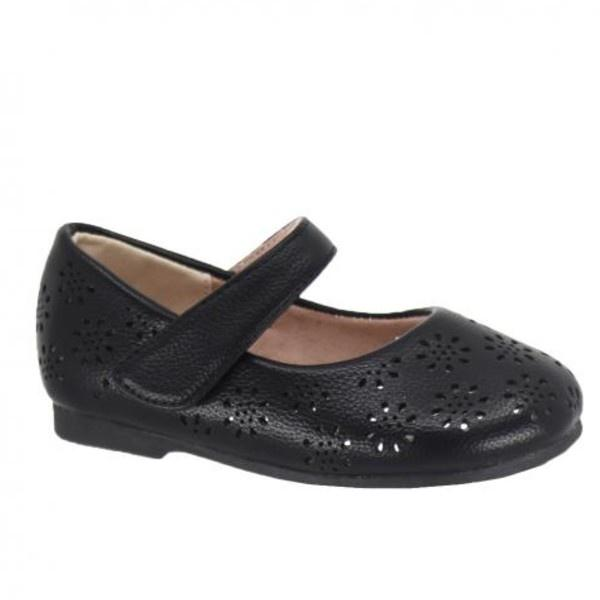 Taxi Ivy Girls Black Dress Shoes (Baby/Toddler/Little Kid)