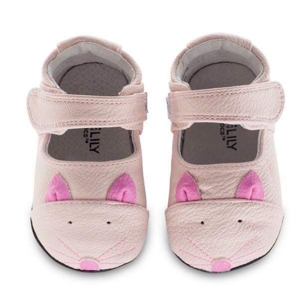 Jack & Lily ROBIN Kitty Pink - shoekid.ca