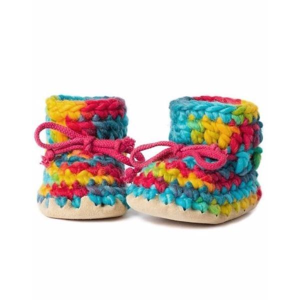 Padraig Baby Rainbow / Infant / Toddler Slippers