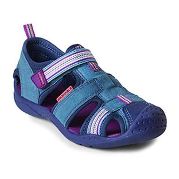 Girls First Walking Shoes - Pediped Sahara Sandals / Water-friendly / Infant/Toddler (Fits Long)