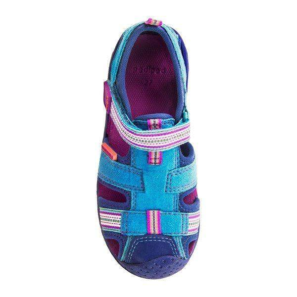ae6f84925bbb Girls First Walking Shoes - Pediped Sahara Sandals   Water-friendly   Infant  Toddler