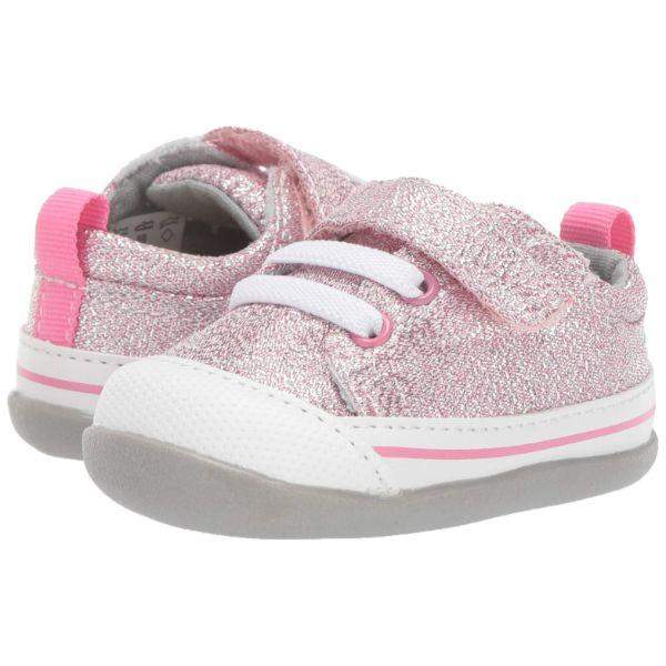 See Kai Run Stevie II INF Pink Glitter - ShoeKid.ca