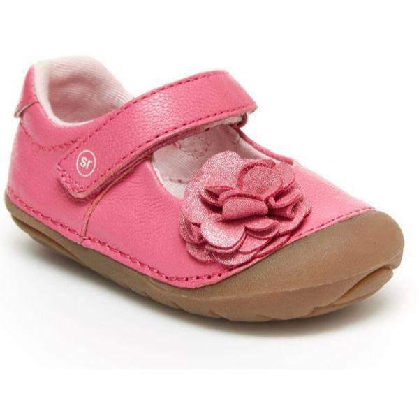Girls First Walking Shoes - Stride Rite Aria Pink Infant/Toddler Shoes