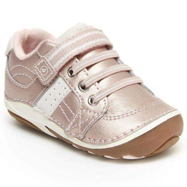 Girls First Walking Shoes - Stride Rite Girls Artie Sneaker Pink Baby Toddler Shoes