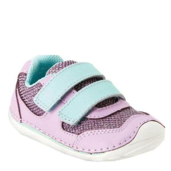 Girls First Walking Shoes - Stride Rite Girls SRT Mason Lilac / Infant / Toddler