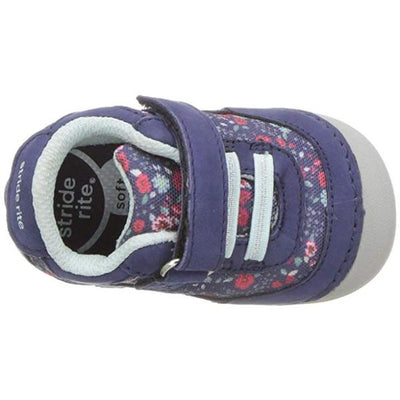 Girls First Walking Shoes - Stride Rite Jazzy Navy Multi / Infant / Toddler