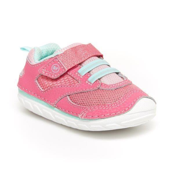 Girls First Walking Shoes - Stride Rite SM Adrian Toddler Sneaker