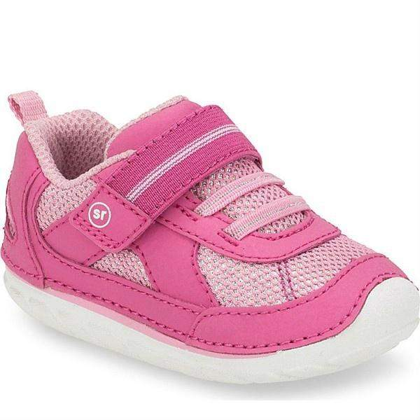 Girls First Walking Shoes - Stride Rite SM JAMIE/PINK Infant/Toddler