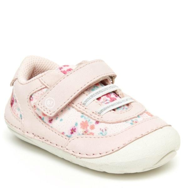 Girls First Walking Shoes - Stride Rite SM Jazzy Sneaker Baby Toddler Shoes