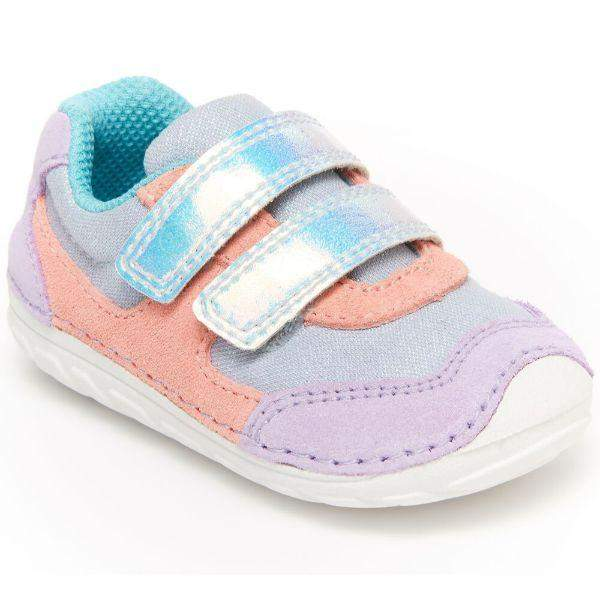 Stride Rite Baby SM Mason Purple Multi - ShoeKid.ca