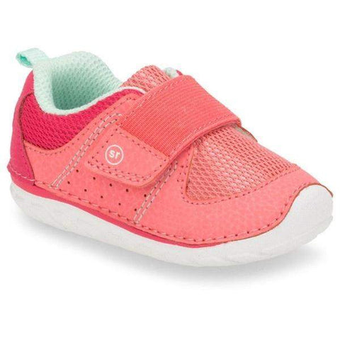 Girls First Walking Shoes - Stride Rite SRT Ripley Coral / Infant / Toddler