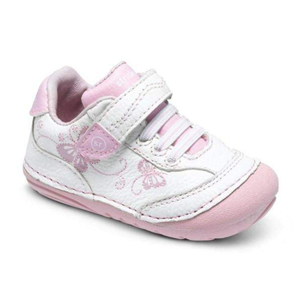 Stride Rite SRT SM BAMBI WHITE/PINK Infant/Toddler - ShoeKid Canada