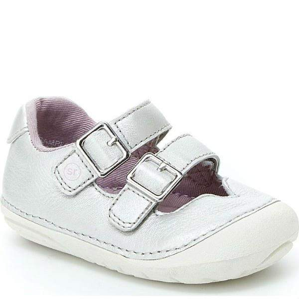 Stride Rite Talia Silver Infant/Toddler - ShoeKid Canada