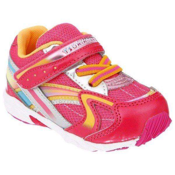 ShoeKid.ca:Tsukihoshi BABY37 GLITZ (Toddler) Machine Washable - Coral Orange