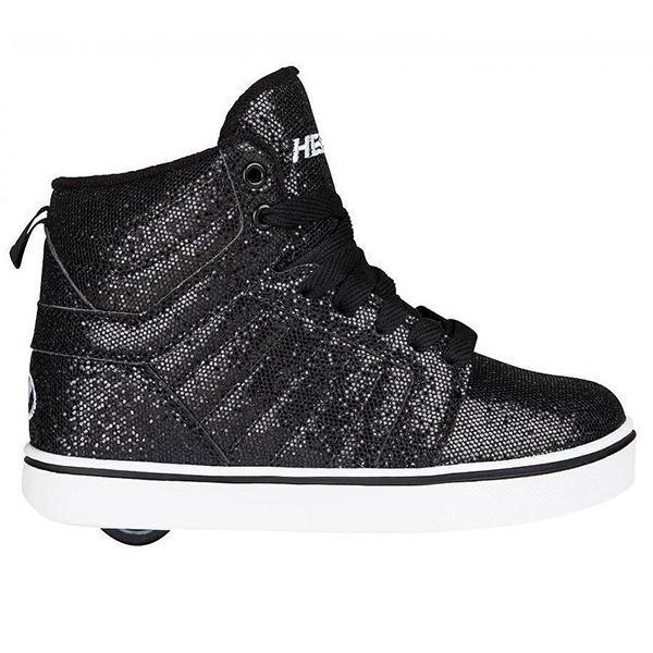 Heelys Uptown Black Disco Glitter / Youth - shoekid.ca