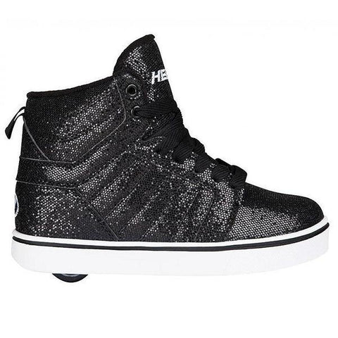 Girls Heelys - Heelys Uptown Black Disco Glitter / Youth