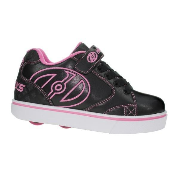 Girls Heelys - Heelys Vopel /Black/ Pink / Kids Heelys / Youth