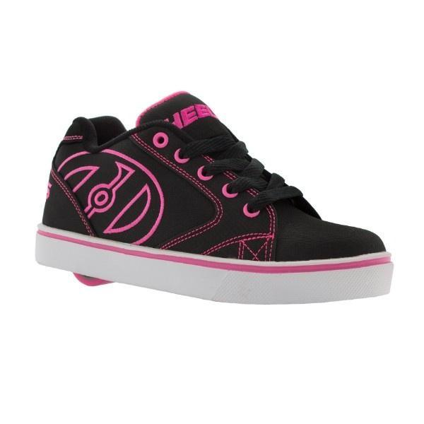 Heelys Vopel /Black/Pink/White / Kids Heelys / Youth - ShoeKid Canada