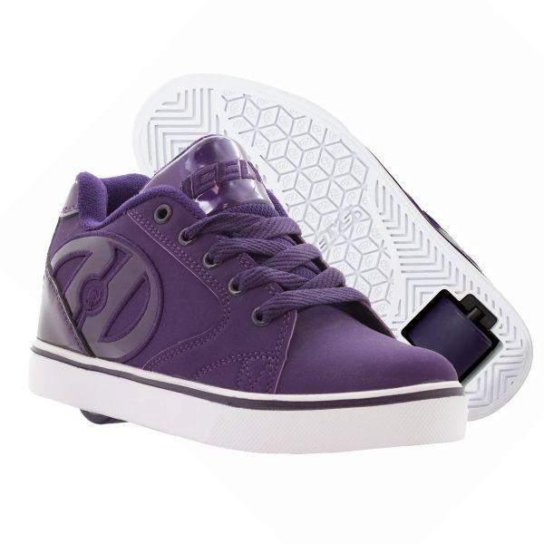 Girls Heelys - Heelys Vopel Grape Girls Skate Shoes