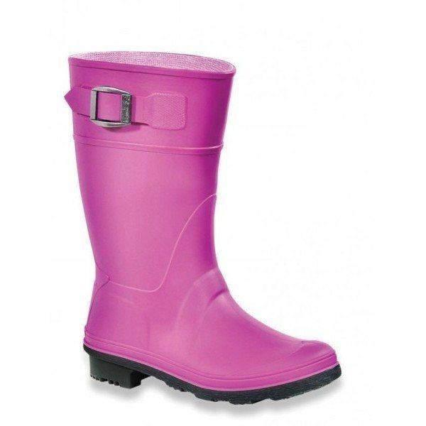 Kamik Raindrops Viola Girls Rain Boots / Made in Canada - ShoeKid.ca