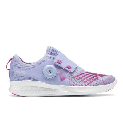 Girls Running Shoes - New Balance Fuel Core Reveal Eclipse/ Amethyst GKBKOEV (Youth)