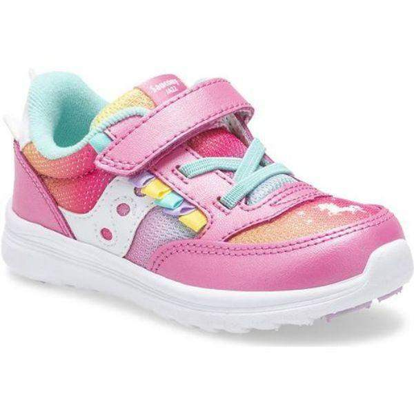 Girls Running Shoes - Saucony JAZZ  Unicorn Girls Running Shoes (Wide Fits Like Medium)
