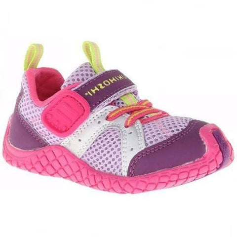Girls Running Shoes - Tsukihoshi CHILD12 5004 MARINA (Toddler/Little Kid), (Machine Washable) Pink Fuchsia
