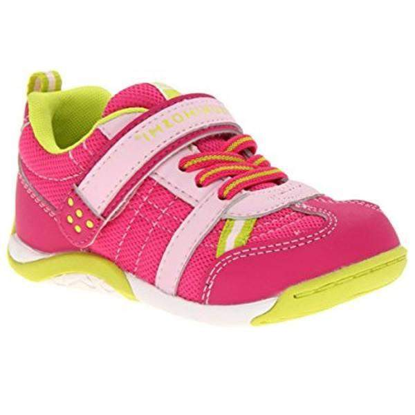 ShoeKid.ca:Tsukihoshi CHILD21 KAZ (Toddler/Little Kid) (Machine Washable) Fuchsia Lime