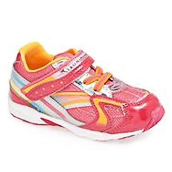ShoeKid.ca:Tsukihoshi CHILD37 GLITZ (Toddler/Little Kid), (Machine Washable) Coral Orange