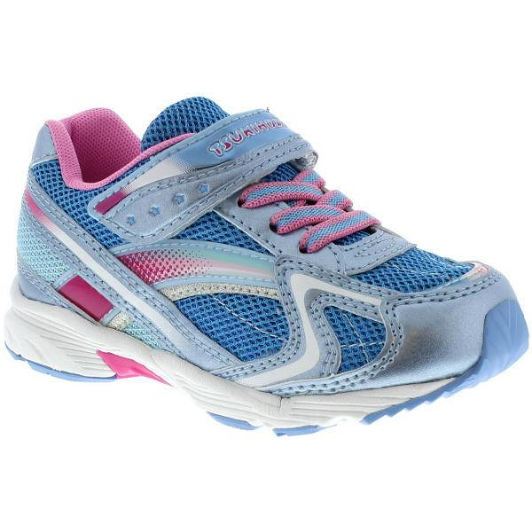 ShoeKid.ca:Tsukihoshi CHILD37 GLITZ (Toddler/Little Kid) (Machine Washable) Light Blue Pink