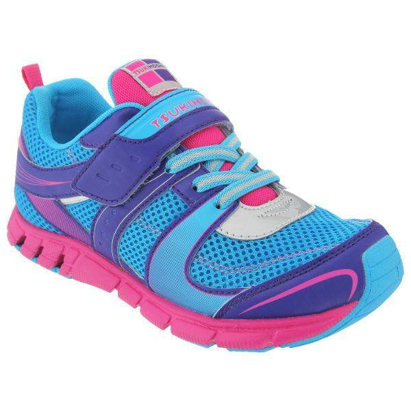 ShoeKid.ca:Tsukihoshi CHILD80 VELOCITY (Toddler/Little Kid) (Machine Washable) Sky Fuchsia