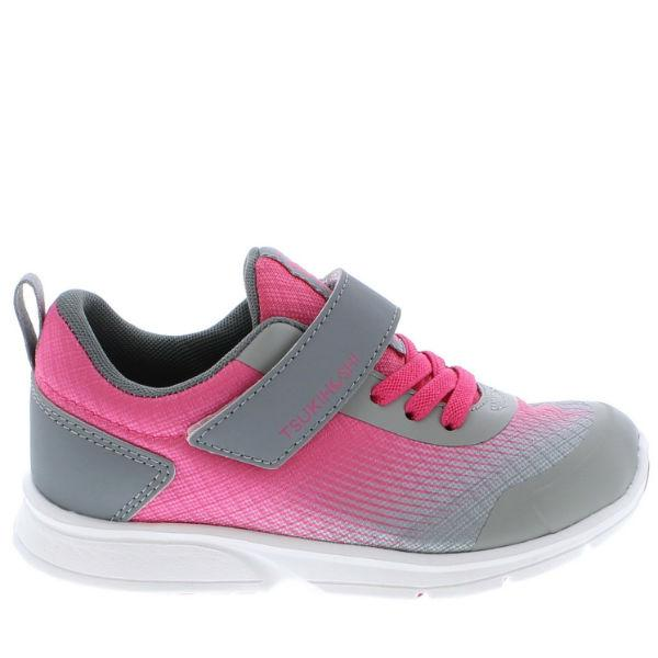 Tsukihoshi Turbo Fuchsia Girls Running Shoes (Machine Washable)