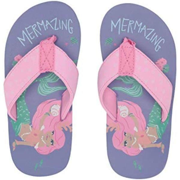 Hatley Mermaid Flip Flops / Toddler / Little Kids - ShoeKid Canada