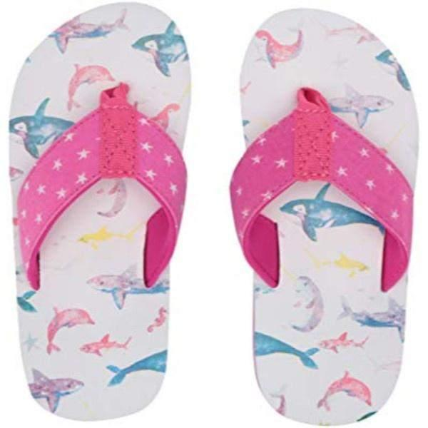 Hatley Sea Friends Flip Flops / Toddler / Little Kids - ShoeKid Canada