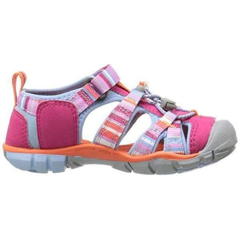 Girls Sandals - Keen Seacamp II CNX C Infant/Toddler Bright Rose Raya Sandals