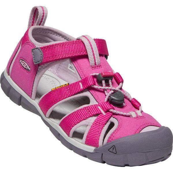 Girls Sandals - KEEN Seacamp II CNX Sandal Very Berry/Dawn Pink